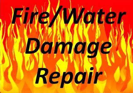 Fire & Water Damage Repair
